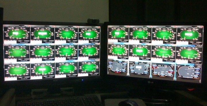 Make money online poker